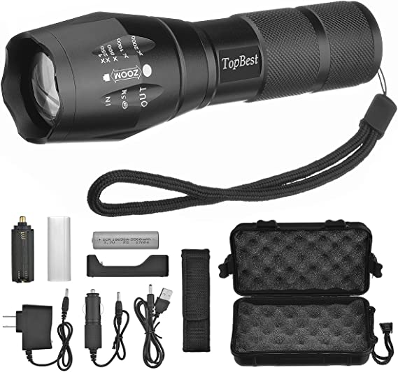 TopBest LED Tactical Flashlight
