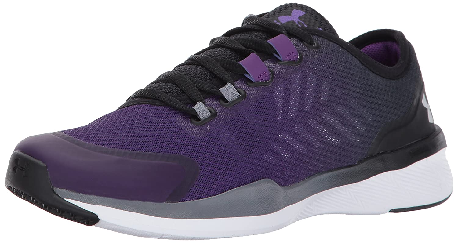 Under Armour Women's Charged Push Cross-Trainer Shoe B01N6GZLF0 9.5 M US|Purple