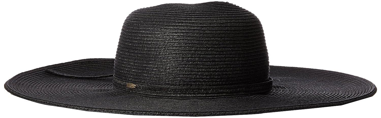 c06cd498df5 SCALA Women s Big Brim Paper Braid Hat at Amazon Women s Clothing store