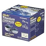 EVERNEW Titanium NS DX2 Set with Handle, 0.9 L