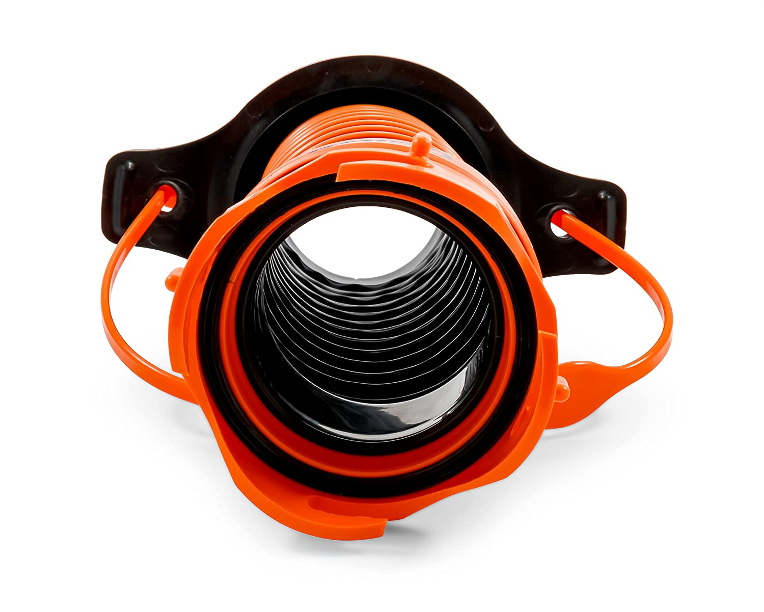 Black Camco 39318 Flexible 3-in-1 Sewer Hose Seal