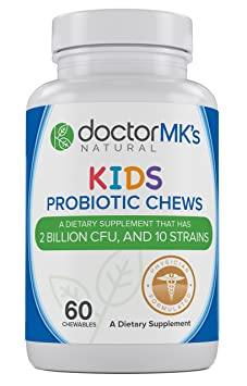 Doctor MK's Kids Probiotics Chewable