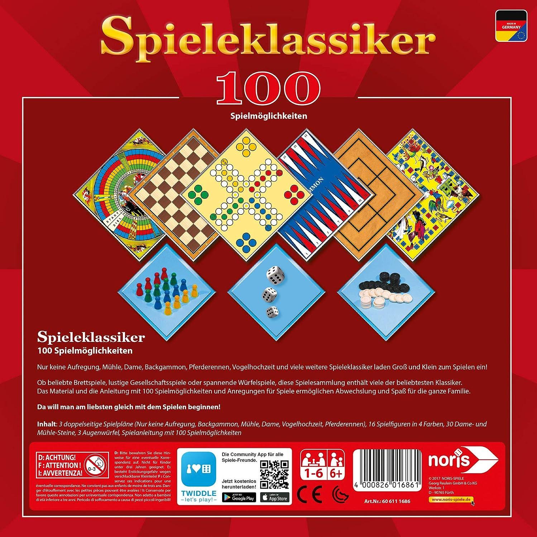Juego cl/ásico con 100 Posibilidades de Juego Noris 606111686