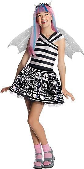 Monster High - Disfraz de Rochelle Goyle para niña, infantil 8-10 ...