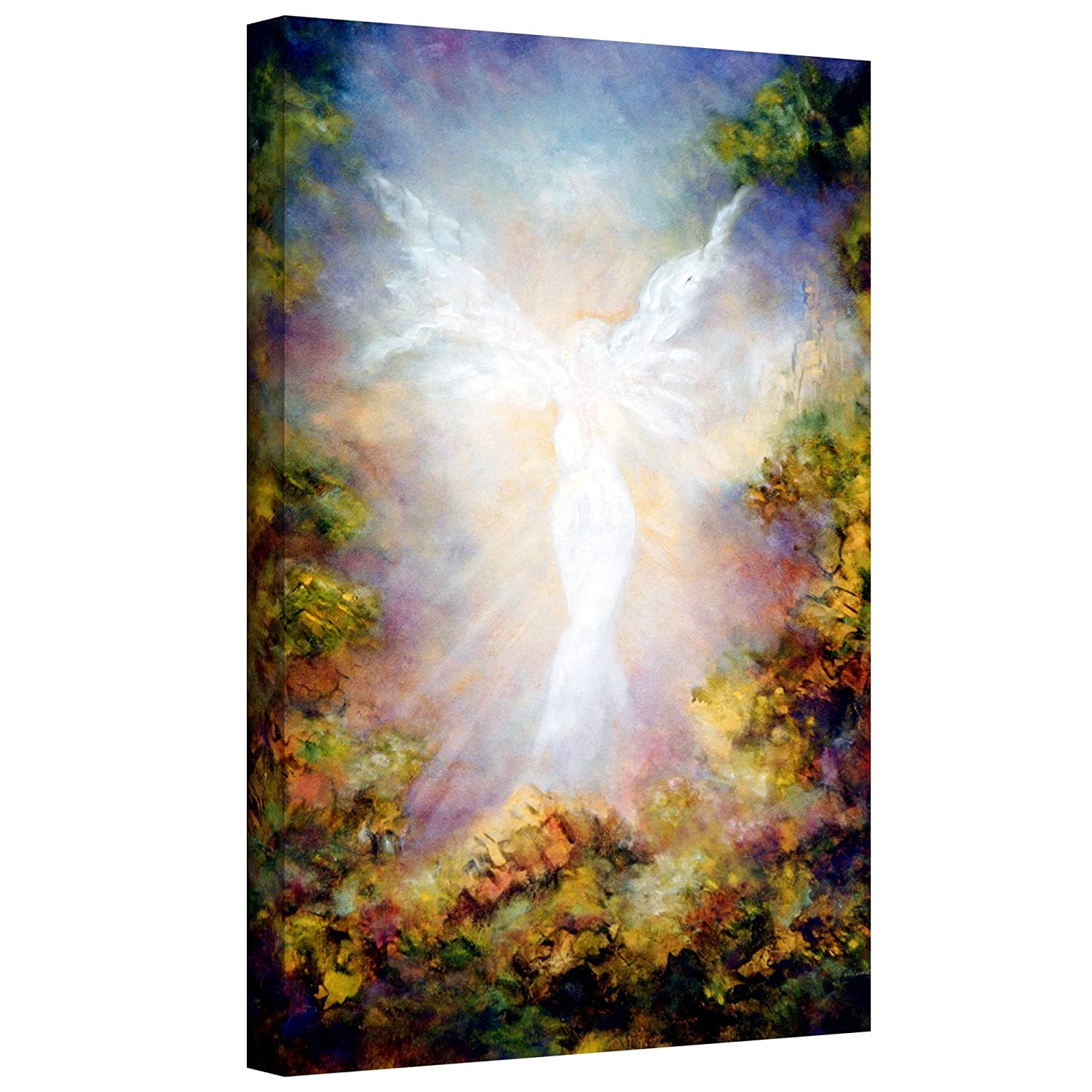 18 by 12-Inch ArtWall Apparition Gallery Wrapped Canvas Art by Marina Petro