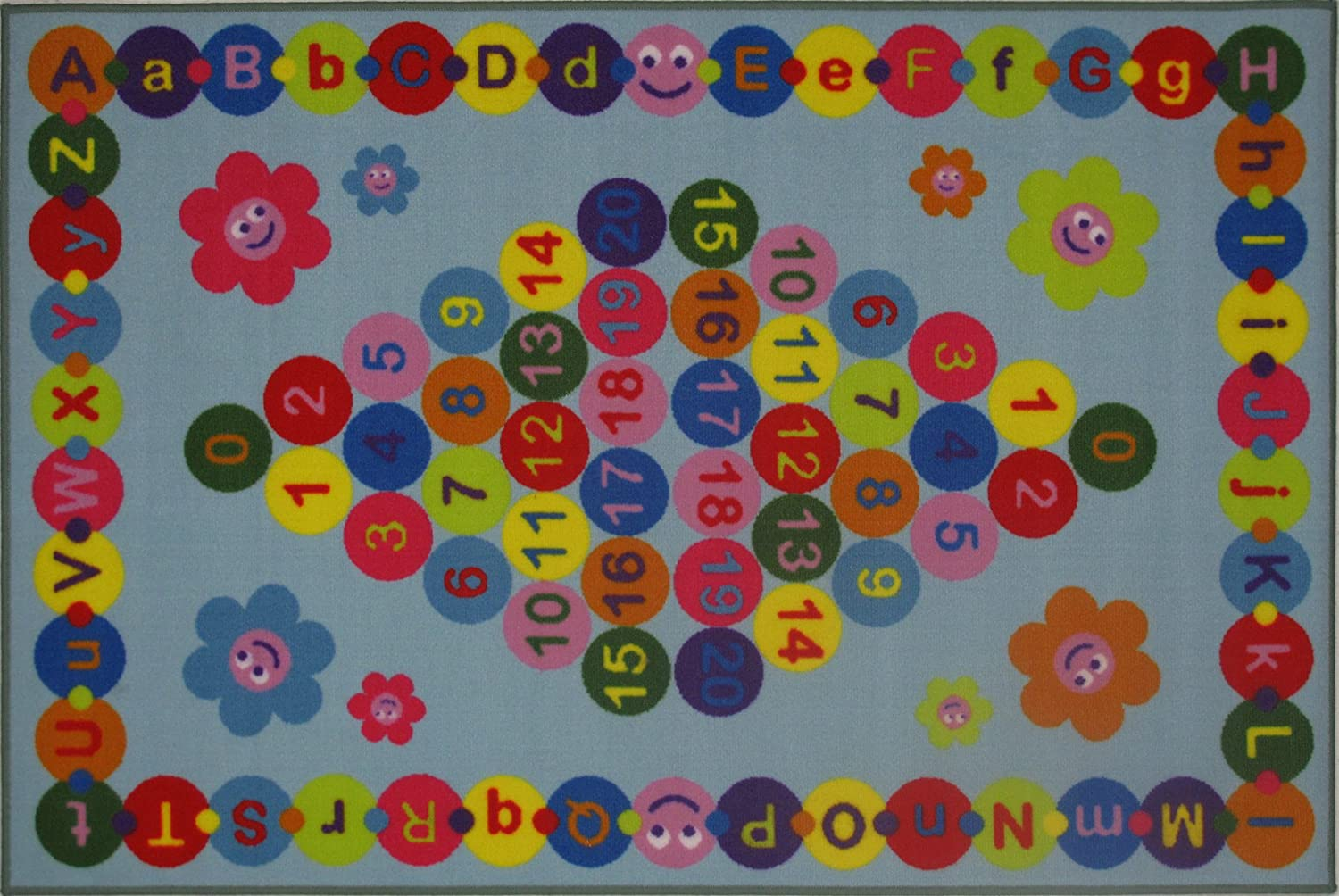 Fun Time Happy Learning Rug