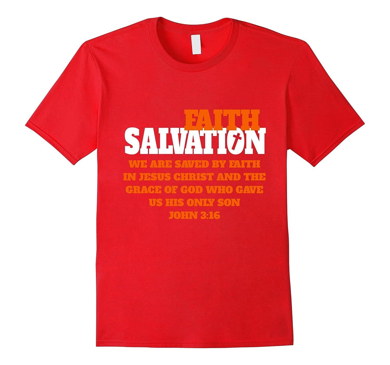 Christian Faith T-Shirt Salvation John 316-PL