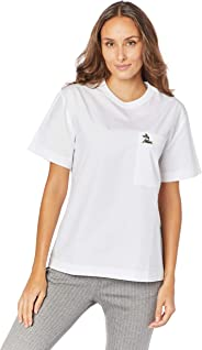 Camisa Regular Fit, Lacoste, Feminino, Branco, 4