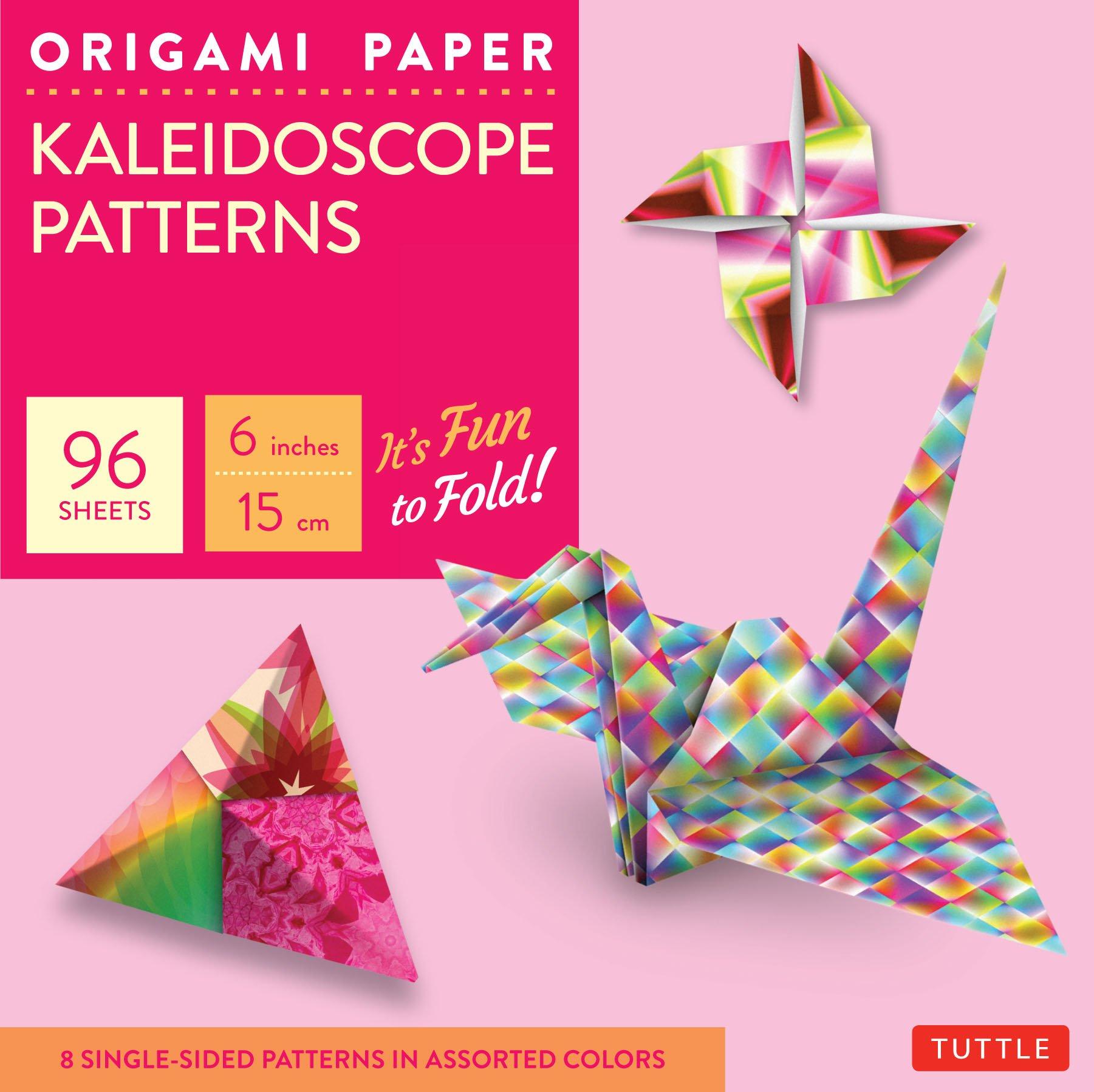 Origami Paper - Kaleidoscope Patterns - 6