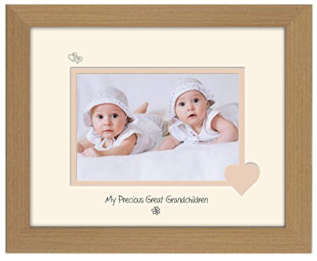 Great Grandchildren Photo Frame My Precious Double Mounted Quality ...