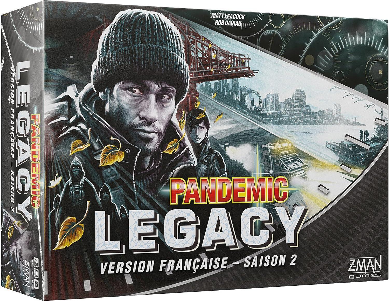 Asmodee – Pandemic – Legacy Nero stagione 2, pan08nero, nessuna