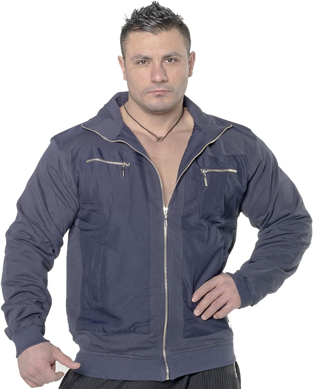 BIG SAM SPORTSWEAR COMPANY Bodybuilding Mens Sweatjacket Sweater Sweatshirt Hoodie 3514