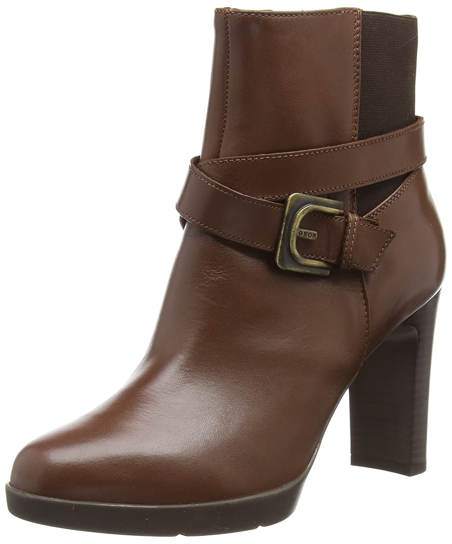 D C0013) (marrón Annya Geox mujer para Botines E, High