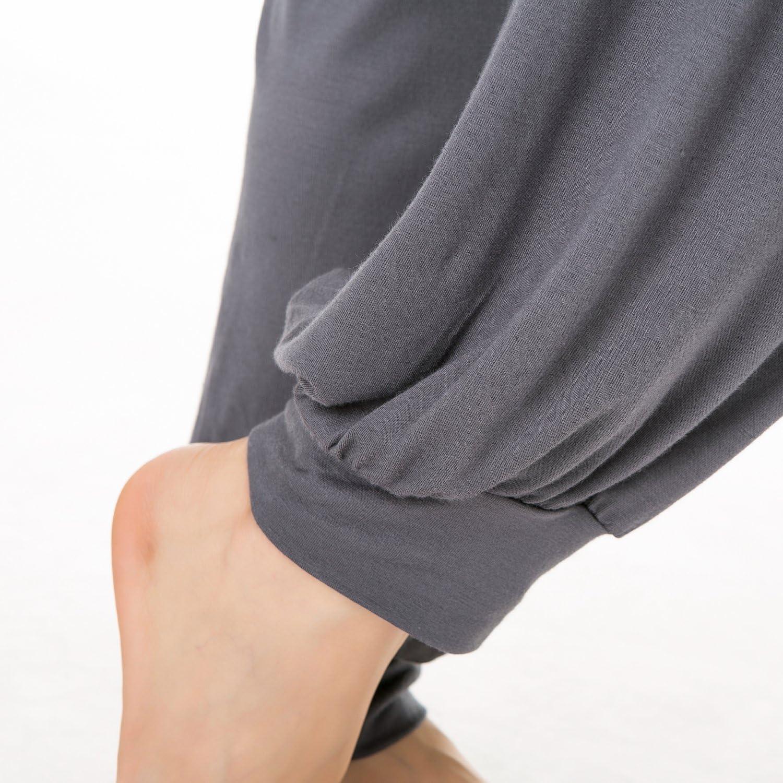 Franato Womens Modal Yoga Harem Pants Fitness Workout Pilates Pants