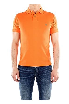 Ralph Lauren Polo Básico 2 Botones Naranja para Hombre Naranja M ...