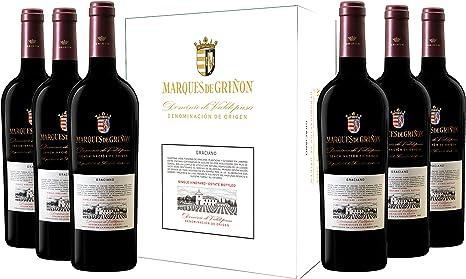 Caja de Marqués de Griñón Graciano - 6 botellas x 750 ml: Amazon.es: Alimentación y bebidas