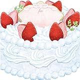 moovin 動画も贈れる 色紙 moovinミニボード CAFEFOOD ストロベリーケーキ