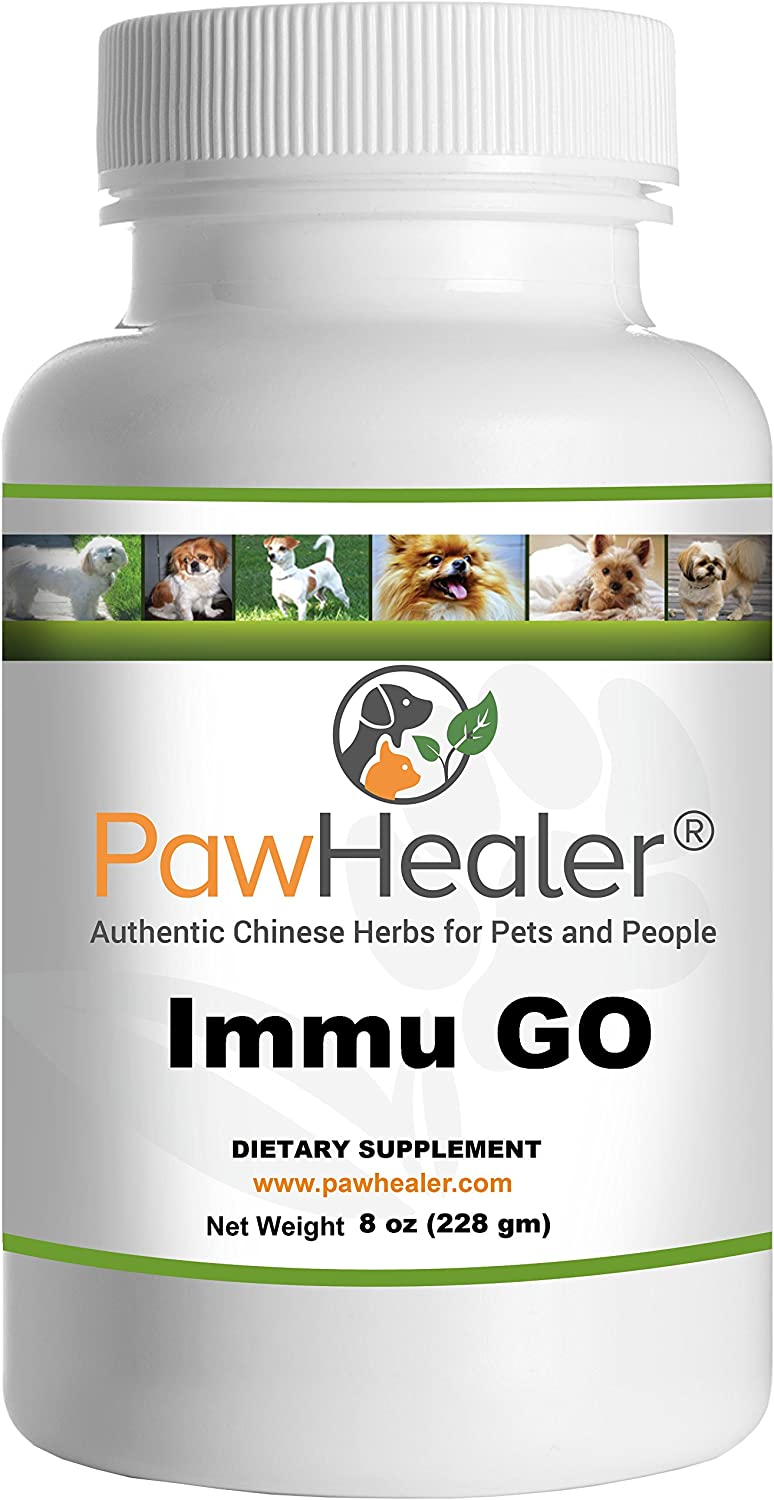 PawHealer Immune Support - Immu G.O. - Glandular Organs - 228 Grams Powder (8 oz) - for Dogs & Pets