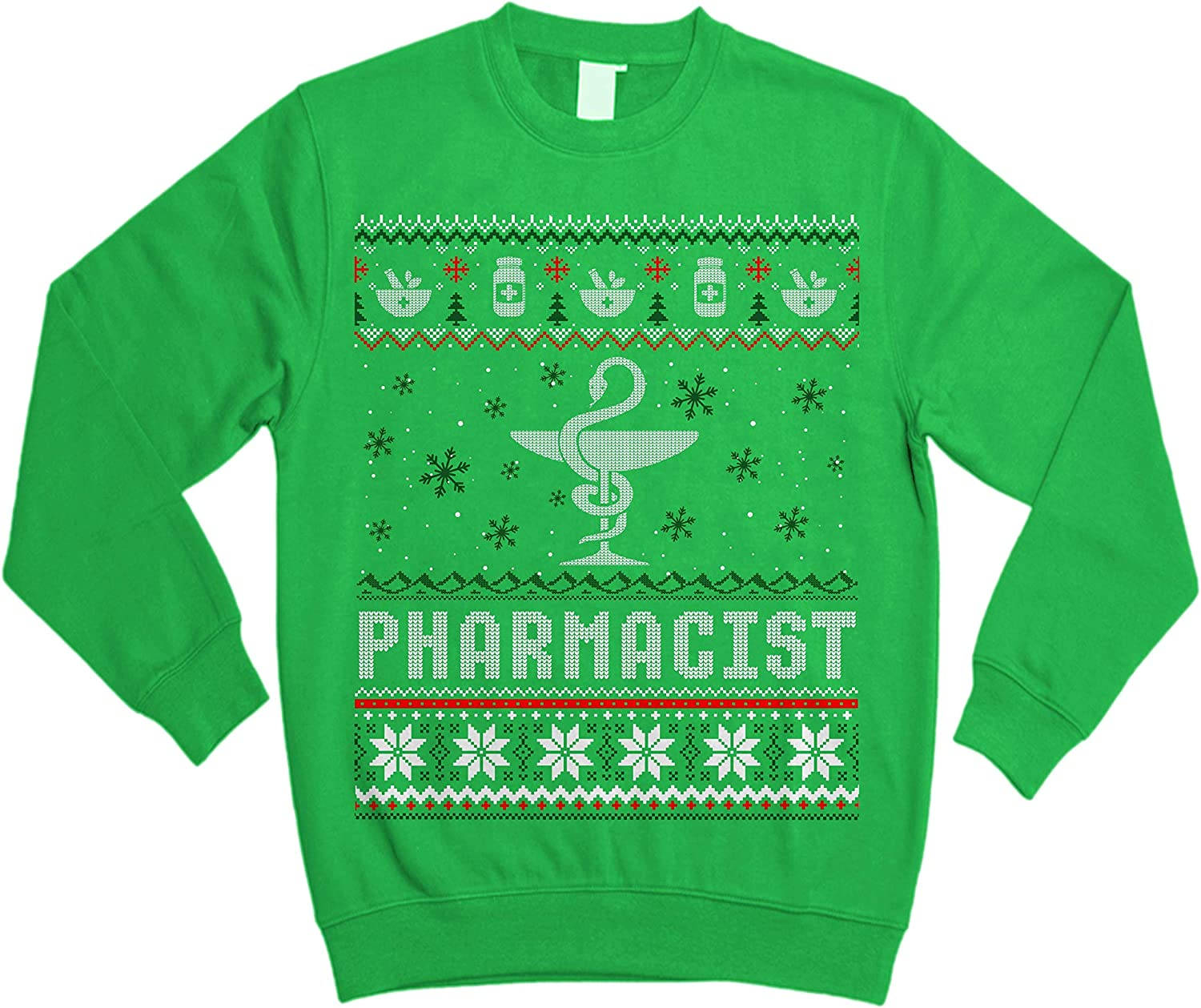 TeeCheery Pharmacy Student Pharmacist Gift Ugly Christmas Sweater Sweatshirt