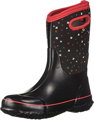 3694f04f804a Bogs Kids Classic High Waterproof Insulated Rubber Rain and Winter Snow Boot  for Boys