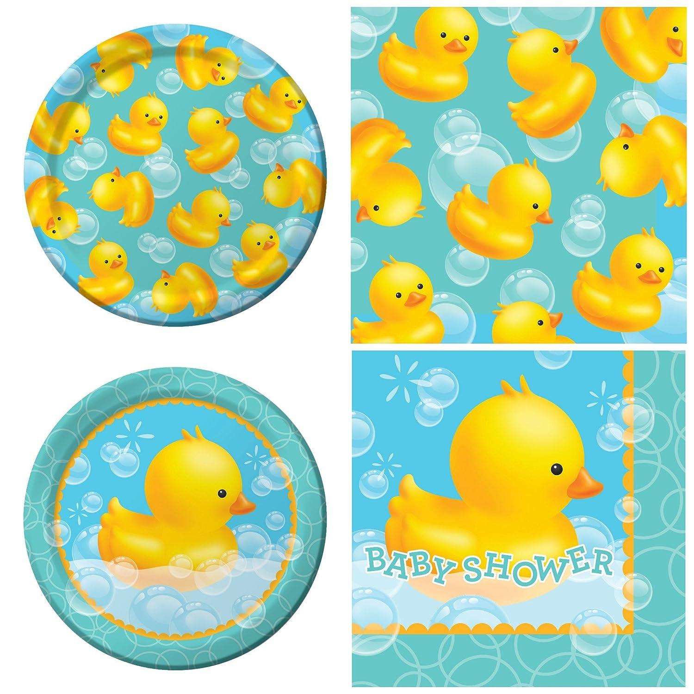 Amazon.com: Creative Converting Bubble BAth Baby Shower Party ...