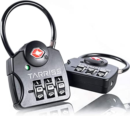 Tarriss Easy-To-Read Durable Luggage Lock
