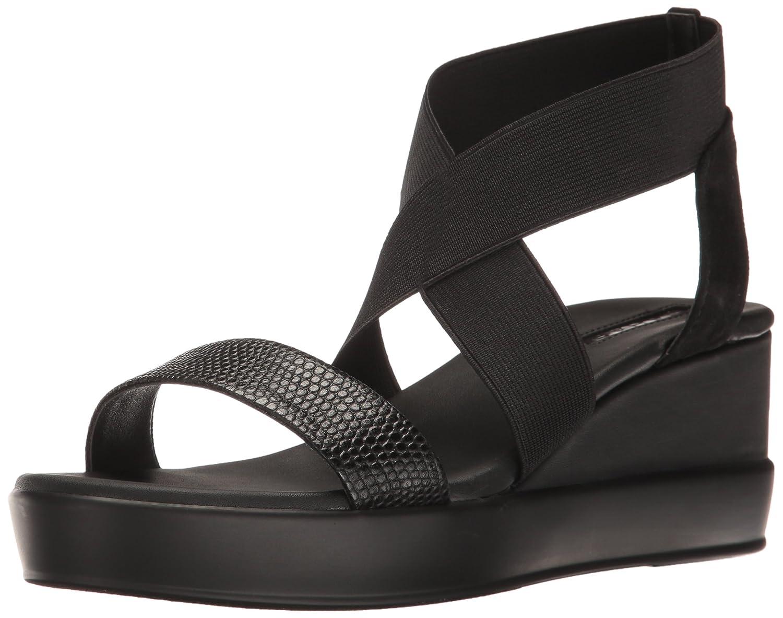 Tahari Women's TA-Prince Wedge Sandal B01MXPF223 5 B(M) US|Black 1