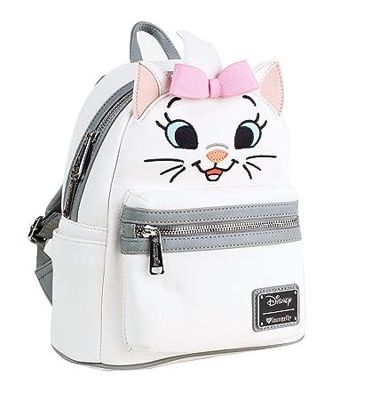 37f11d111b0 Loungefly x Disney Marie Big Face Mini Faux Leather Backpack  Amazon.co.uk   Luggage