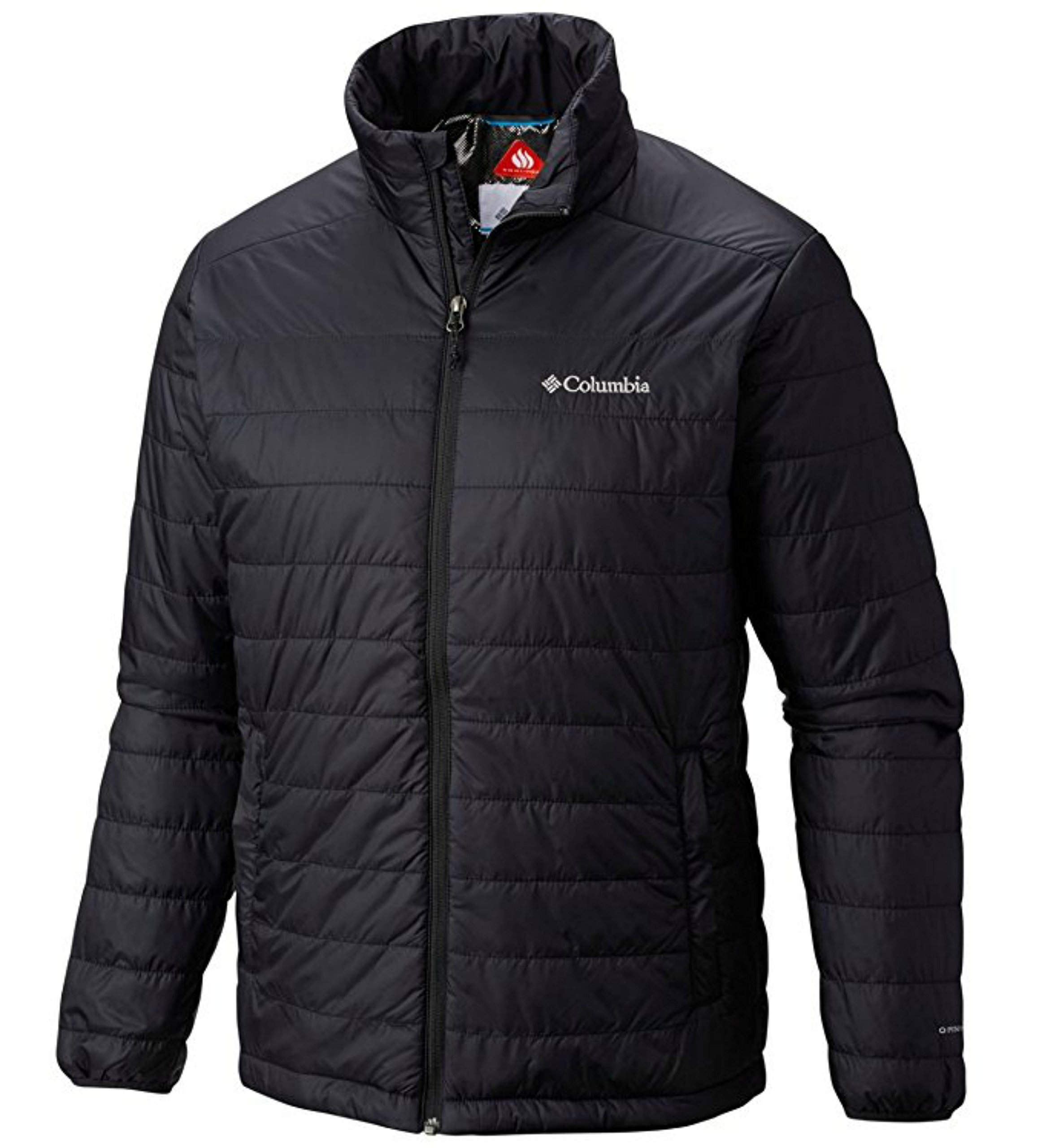 Columbia Mens Crested Butte II Omni-Heat Jacket, BLACK (M) by Columbia