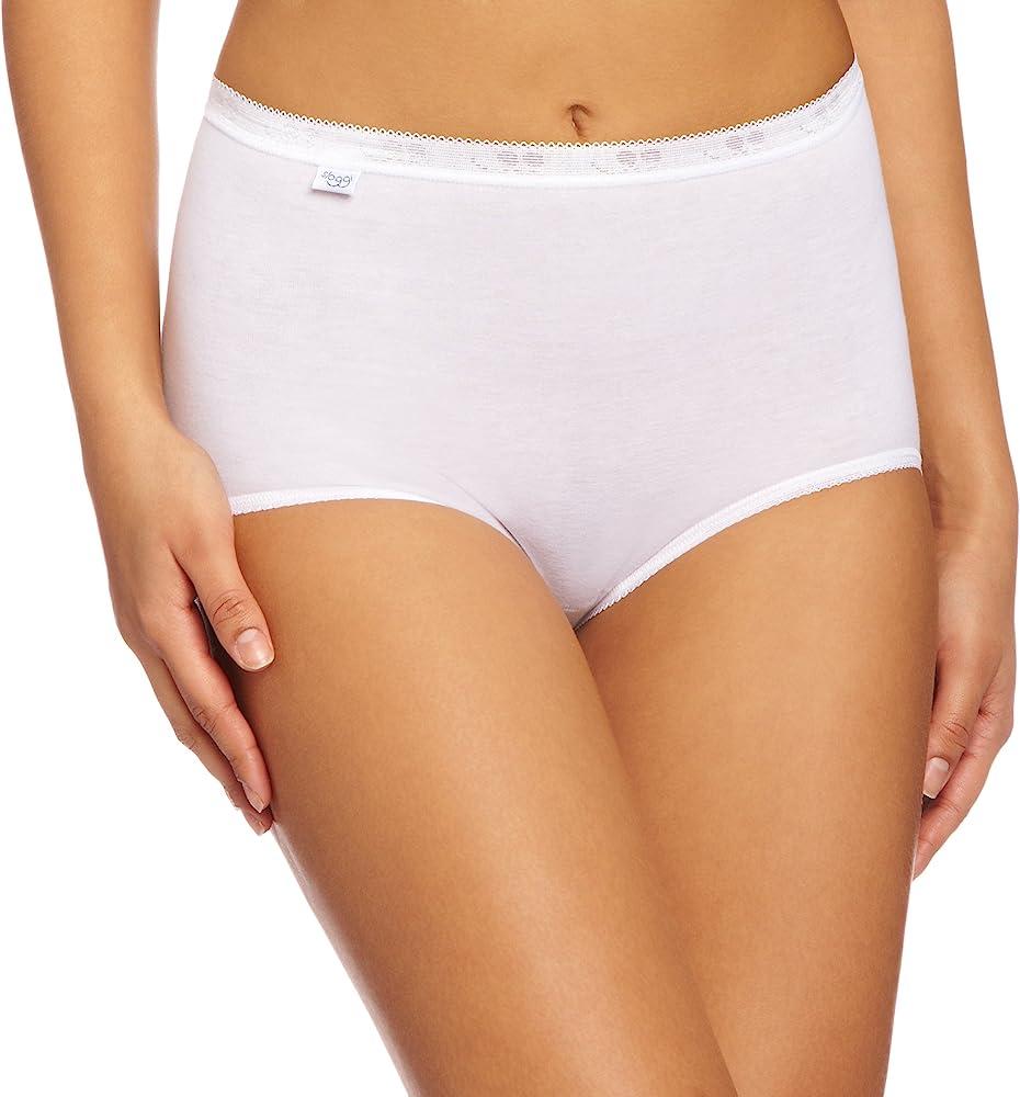 4bdedd759974 Sloggi Basic Maxi 3 Pack, Braguitas básicos + confort premium para Mujer