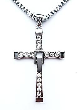 elegante en estilo detallado precio bajo HS86® - Colgante de cruz de Dominic Toretto (Vin Diesel) de