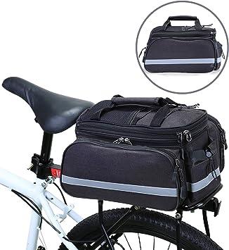 WILDKEN Bolsa Alforja Trasera Bicicleta Impermeable Bolso de ...