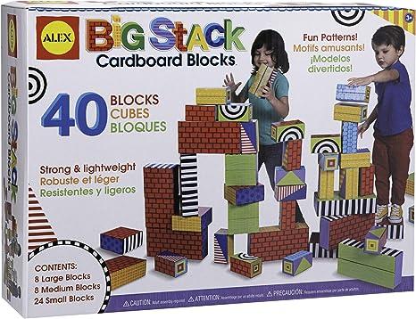 ALEX Toys Big Stack Cardboard Blocks 18CW