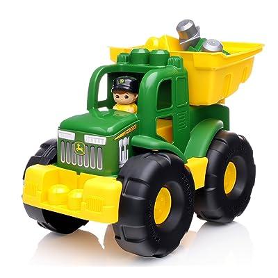 Mega Bloks John Deere Transforming Tractor: Toys & Games