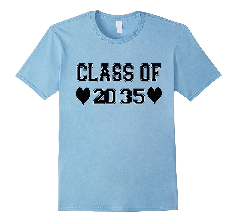 Kindergarten Grade Class of 2035 Tshirts-PL
