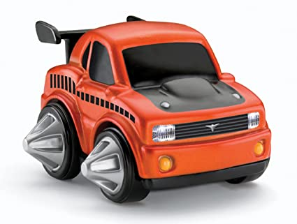 Amazon Com Fisher Price Rev N Go Stunt Vehicle Muscle Car Toys
