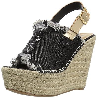3194de32690 Penny Loves Kenny Women s Notch Wedge Sandal