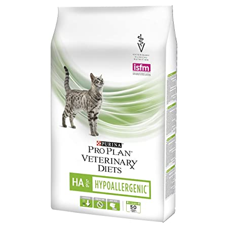 Pienso para Gatos Pro Plan Veterinary Diets de Purina, hipoalergénico HA St/Ox, Dieta clínica Seca para Gatos: Amazon.es: Productos para mascotas