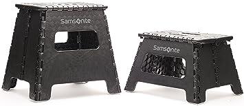 Samsonite Folding Step Stool. Set of two sizes 12.8u0026quot; and 8.6u0026quot; height  sc 1 st  Amazon.com & Amazon.com: Samsonite Folding Step Stool. Set of two sizes 12.8 ... islam-shia.org