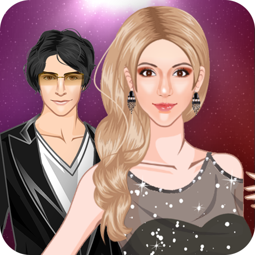 Red Carpet Celebrity Couple Fashion Dress Up Games
