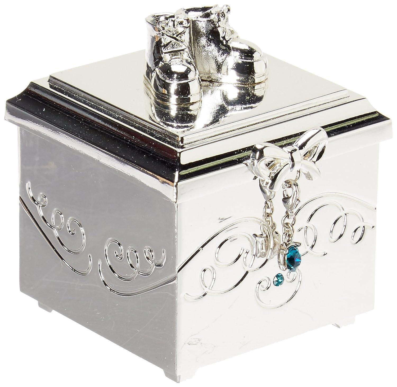 DEMDACO Birthstone Charm Keepsake Box, October 5004700304