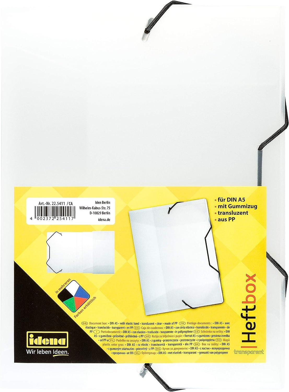 Füllhöhe 3,5 cm Idena Heftbox A4 orange