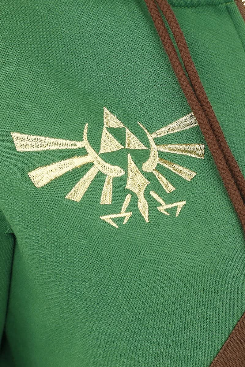 The Legend of Zelda Cosplay Zip-Hoodie Kapuzenjacke Multicolour
