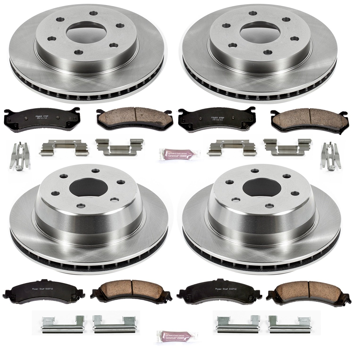 Autospecialty KOE2015 1-Click OE Replacement Brake Kit Power Stop