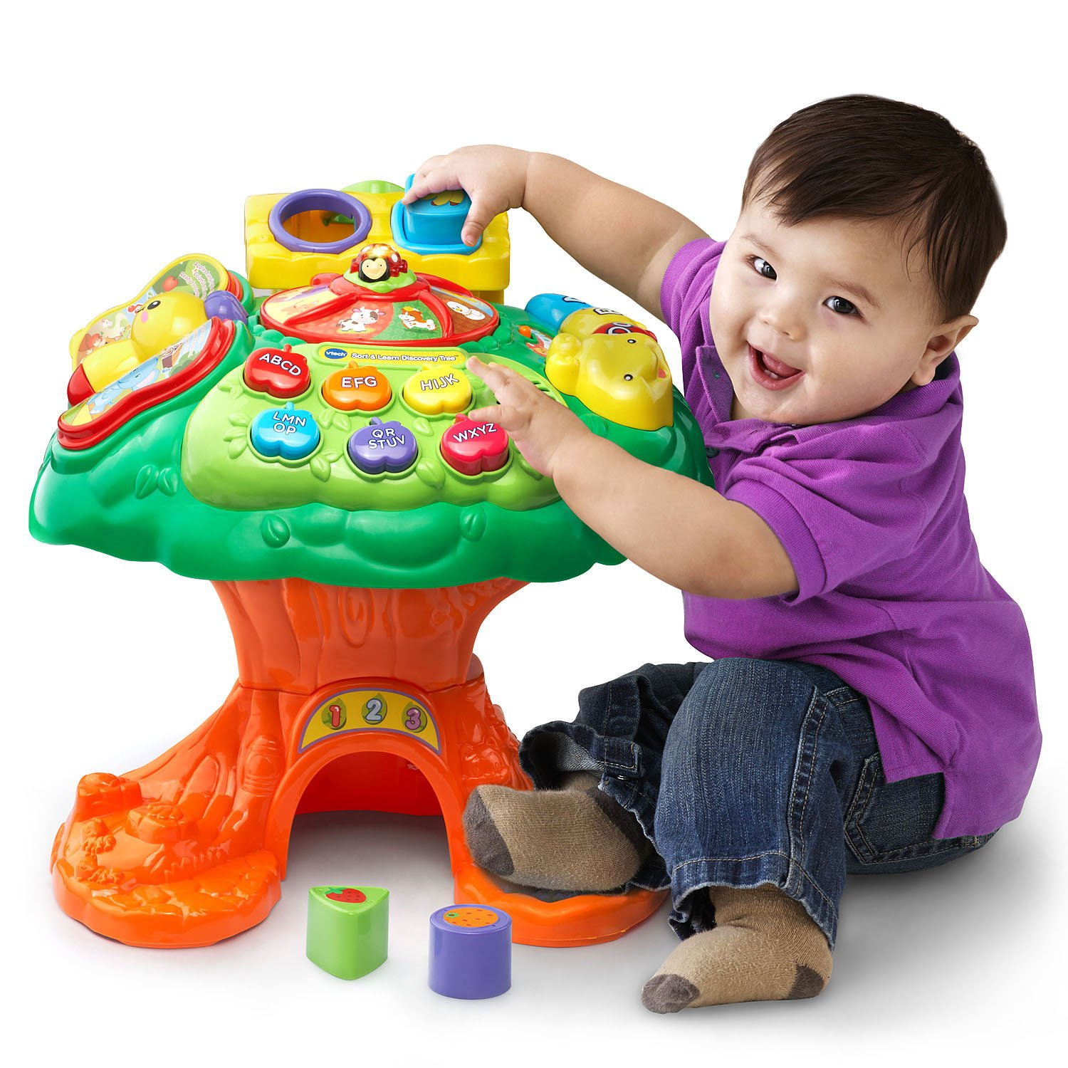 VTech Sort and Learn Discovery Tree (Amazon Exclusive) by VTech (Image #1)