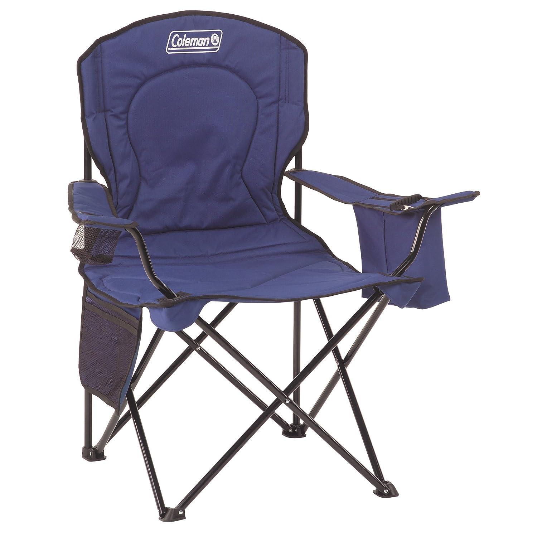Coleman Cooler Quad Chair B075FWZ46H ブルー ブルー