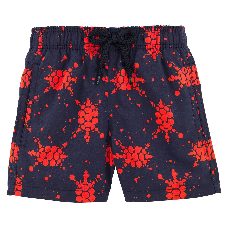 Vilebrequin - Japan Turtles Boy Swimwear - Boys - 2 years - Navy Blue by Vilebrequin