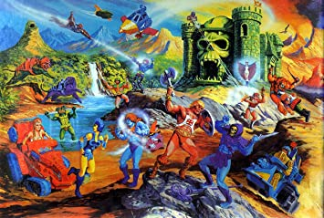 Posterhouzz Comics He-Man and The Masters of The Universe HD