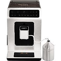 Krups 全自动咖啡机 Evidence 一键式卡布奇诺 带触摸屏的 OLED 操作面板 2.1 升