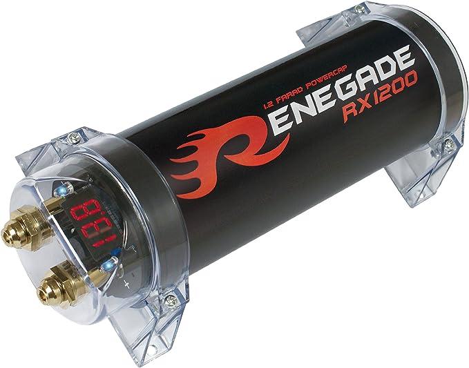 Imagen deRenegade Condensador de Potencia (1,2fared Capacidad con 4dígitos voltímetro Pantalla